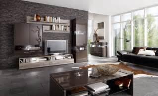 ebay wohnzimmer wohnzimmer schwarzbraun hochglanz sonoma eiche inkl bel neu woody 22 00320 ebay