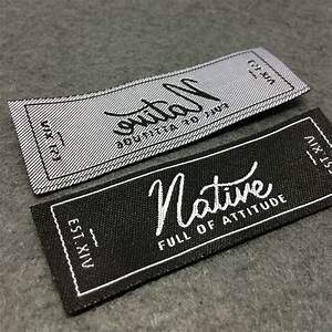 woven labels basic name labels custom woven labels clothing With create custom clothing tags