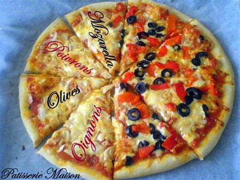 recettes de cuisine facile recette de pizza maison