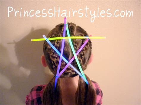 july hairstyles  glowing star hairstyles