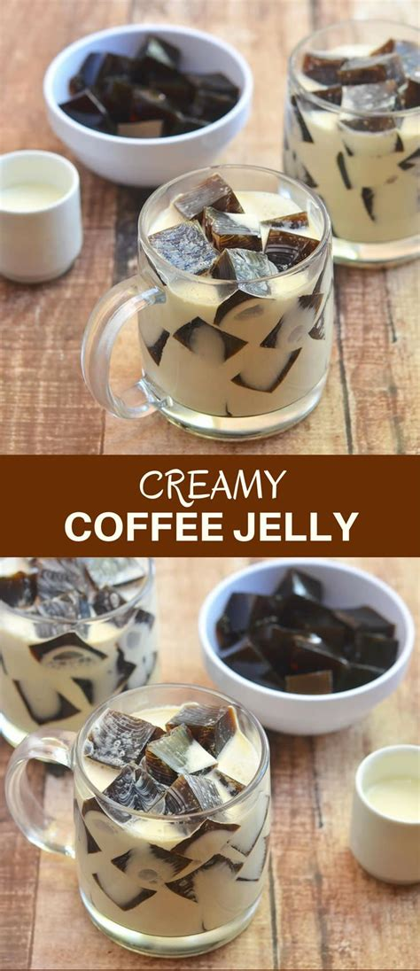 Coffee jelly with kopiko brown mystyle simpleng lutong bahay cheryl marquez. Coffee Jelly | Recipe in 2020 | Coffee jelly, Creamy coffee, Coffee dessert
