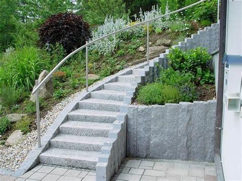 hauseingang gestalten granit haust 252 r treppe eingansbereich vorgarten treppenstein