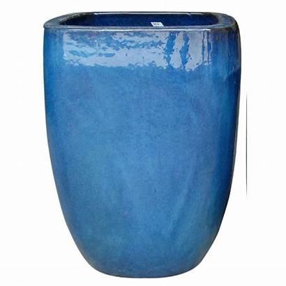 Trendspot Ceramic Pot Pots Dia Planter Quadrato