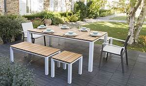Mobilier Table Exterieur Teck