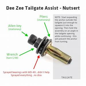 Deezee Tailgate Assist Help