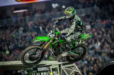 motocross action walking wounded of supercross mxa s injury report