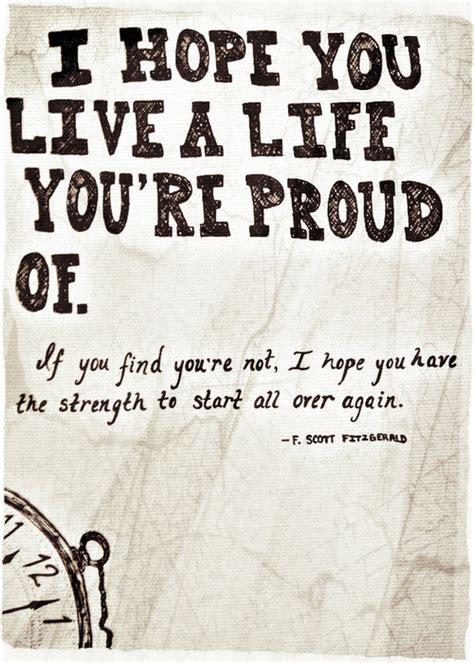 life quotes true  hope strength  scott fitzgerald