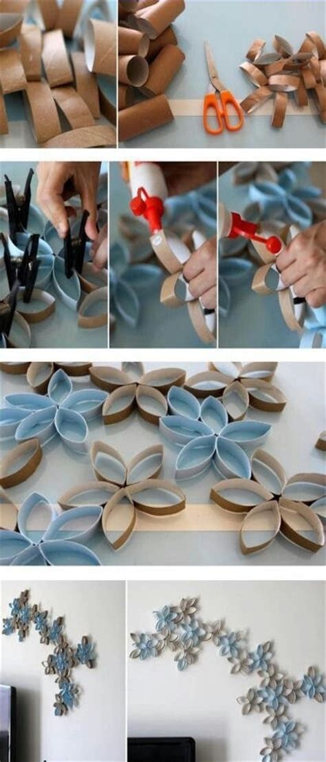 Recycled firecrackers from tp rolls. DIY Toilet Paper Rolls Wall Decor Pictures, Photos, and Images for Facebook, Tumblr, Pinterest ...