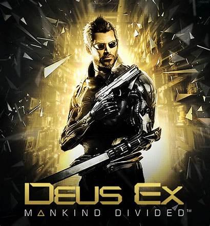 Deus Ex Mankind Divided Poster Box Cyberpunk