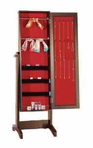 Armoire à Bijoux Miroir : brassex bijoux armoire avec miroir ~ Teatrodelosmanantiales.com Idées de Décoration