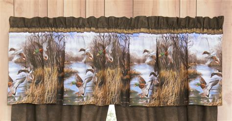 camouflage curtains duck approach valance camo trading