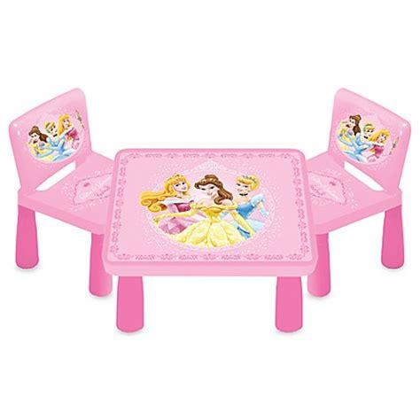 disney princess table and chairs disney princesses table and chair set bed bath beyond