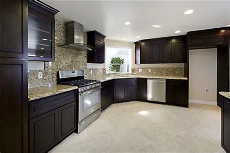 chocolate color kitchen cabinets modern chocolate kitchen cabinets kitchen pro 5403