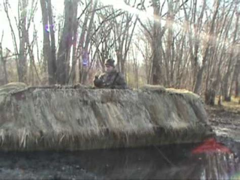 Duck Hunting Boat Blind Tips by Duck Hunting Boat Blind Over Head Cover Tips Youtube