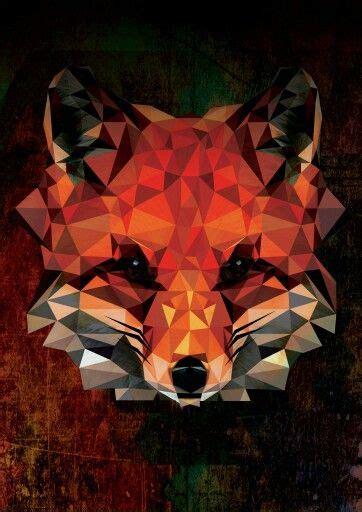 Polygon Animal Wallpaper - polygon fox animal design digital graphicdesign phone
