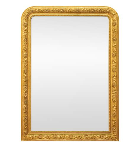 grand miroir chemin 233 e ancien dor 233 style louis philippe