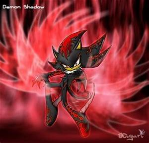 Shadow and sonic images Shadow demon wallpaper and ...