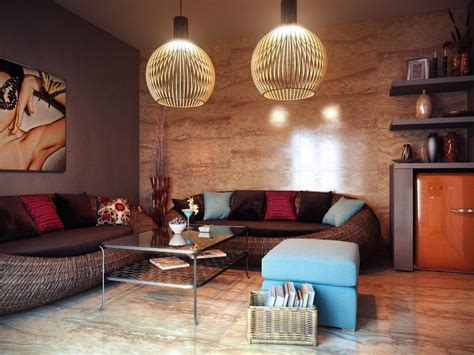 hanging lights for living room 9 damage free ways to add a personal touch to a rental