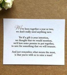 monetary gift wording images wedding gift poem