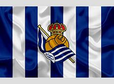 Download wallpapers Real Sociedad, football club, emblem