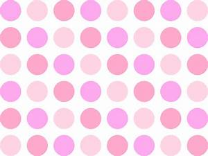 Pink polka dot background | Flickr - Photo Sharing!