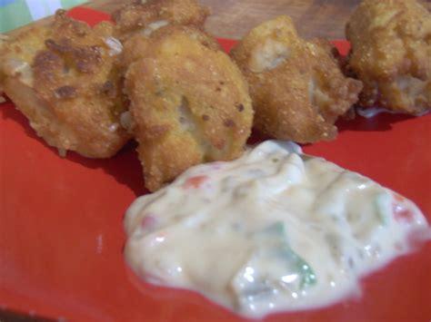 grouper battered bites tartar jalapeno sauce food recipe