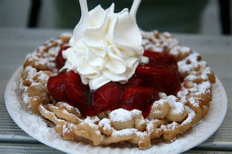 State Fair Worthy Easy Funnel Cake Recipe - All Created