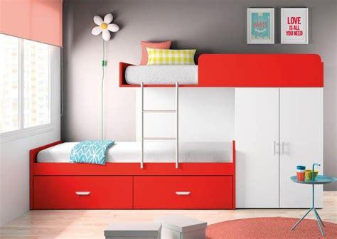 chambre fille avec lit superposé idées de chambre pour deux et trois enfants