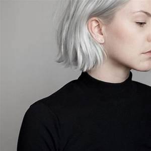 short platinum blonde hair   Tumblr