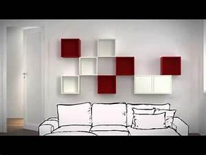 Cube Mural Ikea : ikea valje hyller som diffusor ~ Teatrodelosmanantiales.com Idées de Décoration
