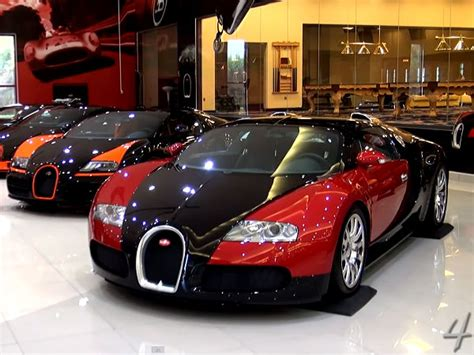 Insanely Expensive Car Collection Includes Five Bugatti