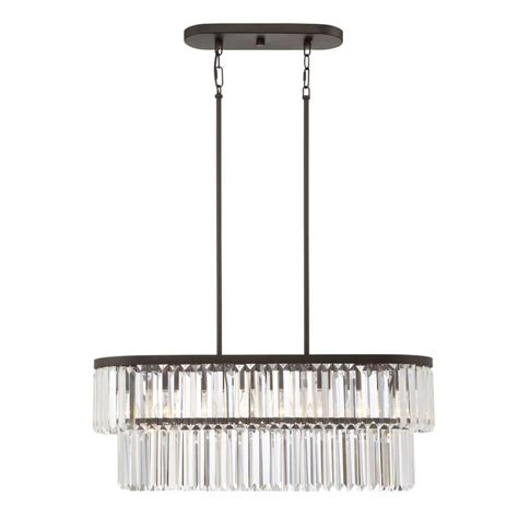shop quoizel valentina 30 in w 4 light painted bronze