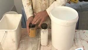 Faire un badigeon a la chaux minutefacilecom for Enlever peinture a la chaux