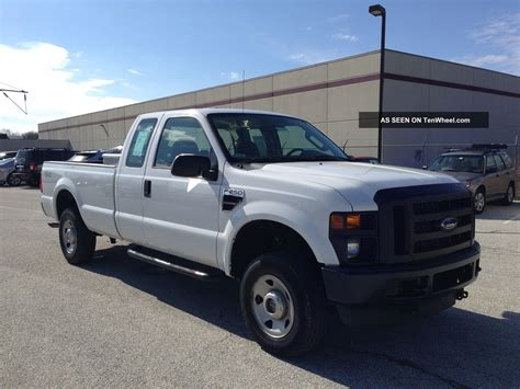2008 Ford F250 Superduty 4x4 Xl Ext Cab Long Bed Pa Nspected