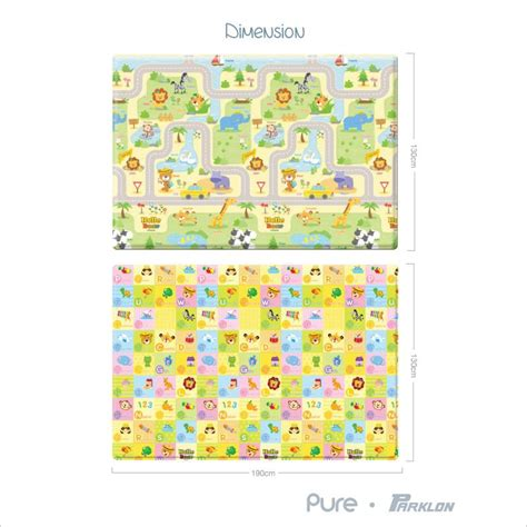 pure  bear town size  playmat singapore