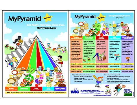 6 Best Images Of Printable Food Pyramid For Students