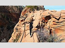 Hiking Angels Landing In Zion National Park Nature For Kids