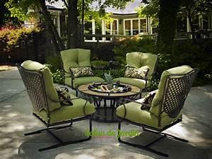 Salon De Jardin Gifi 2018 : salon de jardin en fer forg design un salon de jardin ~ Melissatoandfro.com Idées de Décoration