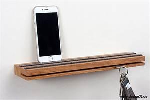 Schlüsselbrett Mit Ablage : schl sselbrett eiche ge lt modern mit ablage online kaufen ~ Lateststills.com Haus und Dekorationen