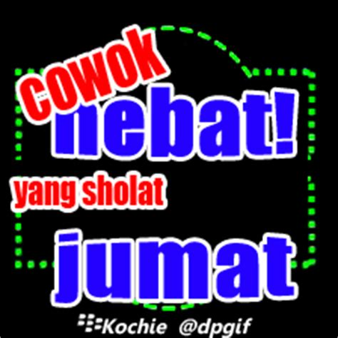 Gambar DP BBM Animasi Bergerak Malam Jum at Lucu Bikin