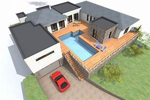 implantation de maison sur terrain en pente ventana blog With implantation maison sur terrain en pente