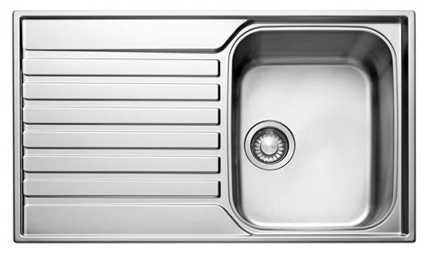 single bowl kitchen sink with drainer franke ascona 1 bowl polished stainless steel sink 9306