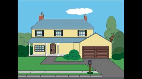 Drawing American Dad House