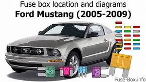 Fuse Box Location And Diagrams  Ford Mustang  2005