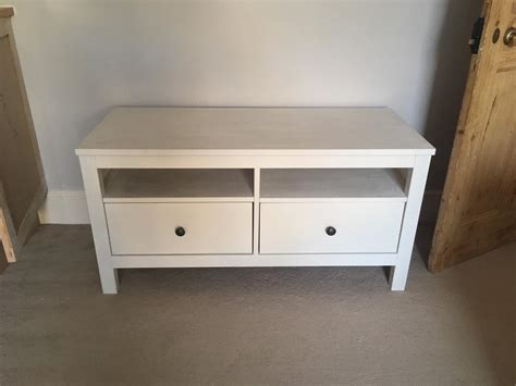 Ikea Hemnes Desk With 2 Drawers by Ikea Hemnes 2 Drawer Tv Stand Bench Unit In Epsom