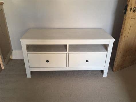 tv dresser ikea ikea hemnes 2 drawer tv stand bench unit in epsom surrey gumtree