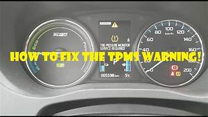 Why Is Tpms Light On How To Mitsubishi Outlander Phev Tpms Warning Fix Youtube