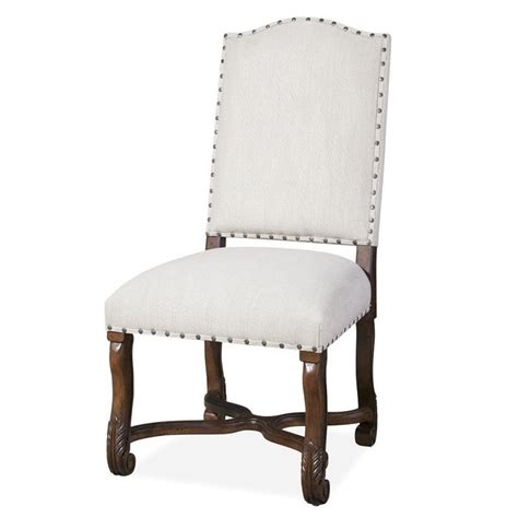paula deen home dogwood upholstered dining side chair in