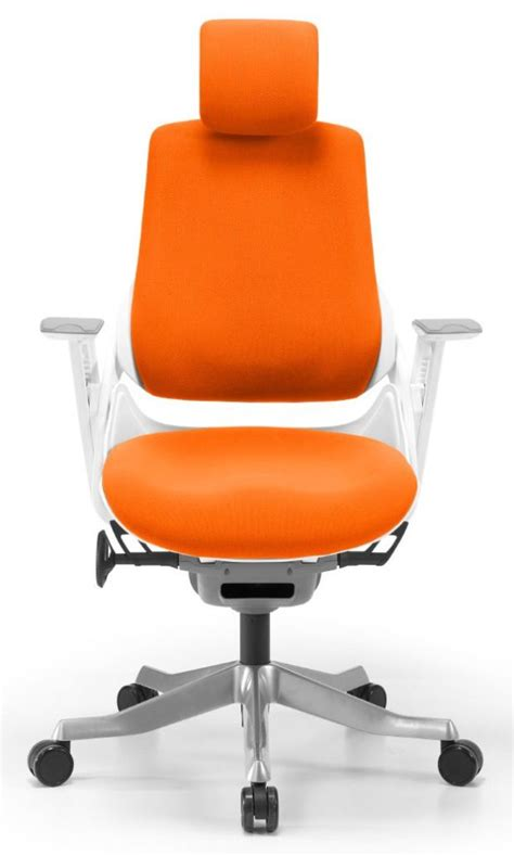 wau office chair orange best computer chairs for office
