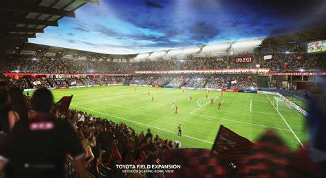 Park Toyota Of San Antonio by Scorpions Unveil Toyota Field Expansion San